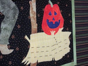 An Autumn Wallhanging - Wheat bale