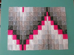 Completed Bargello Top