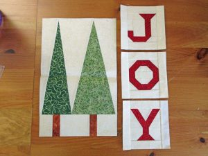 Christmas Quilt Month 3