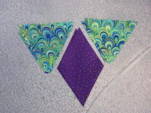 Diamonds and triangles 1