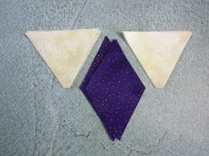 Diamonds and triangles 2